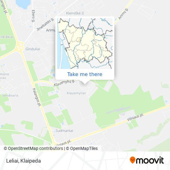 Leliai map