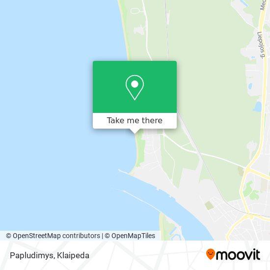 Papludimys map