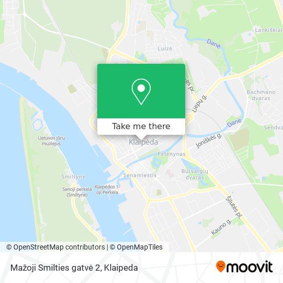 Mažoji Smilties gatvė 2 map
