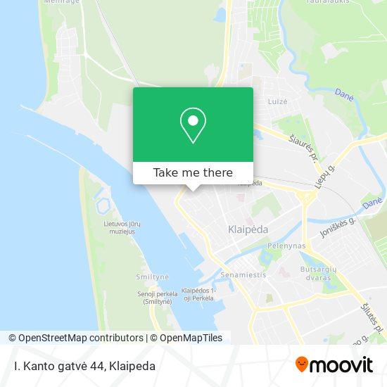 I. Kanto gatvė 44 map