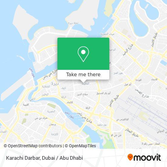Karachi Darbar plan