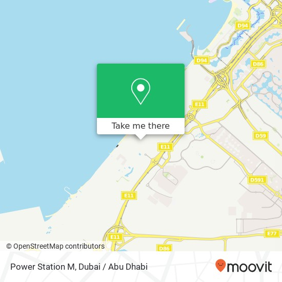 Карта Power Station M