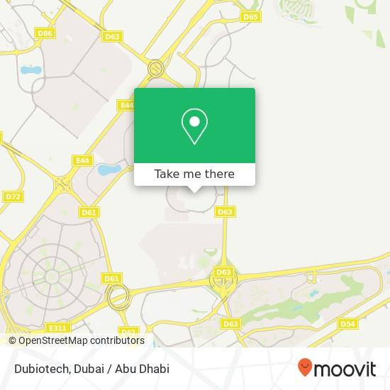 Карта Dubiotech