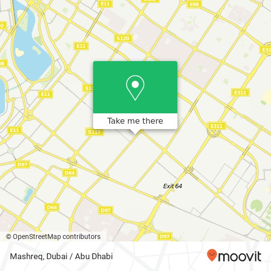 Карта Mashreq