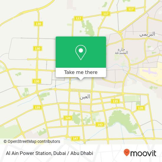Al Ain Power Station Karte