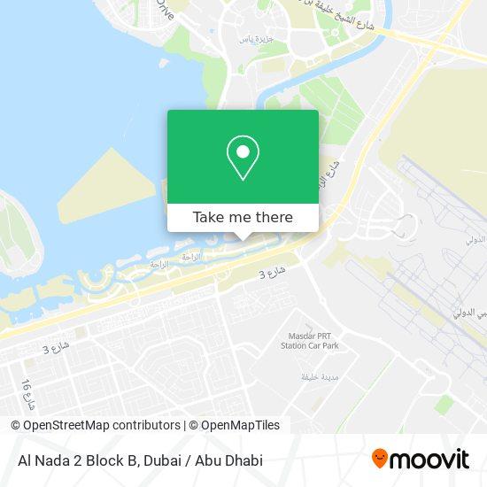 Карта Al Nada 2 Block B