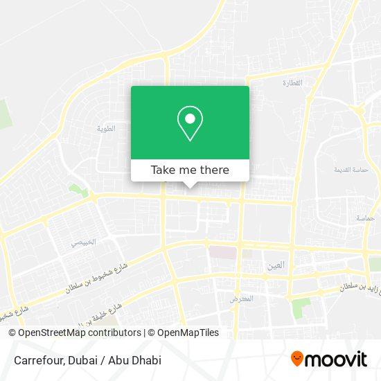 Carrefour Karte