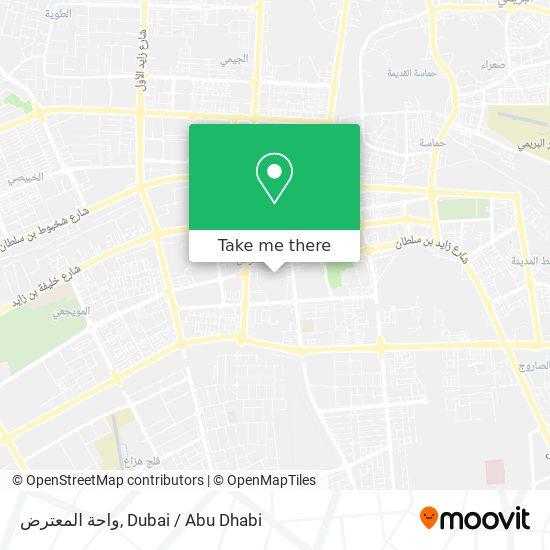 Al Mutaredh Oasis plan