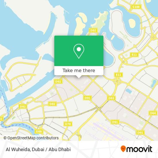 Карта Al Wuheida