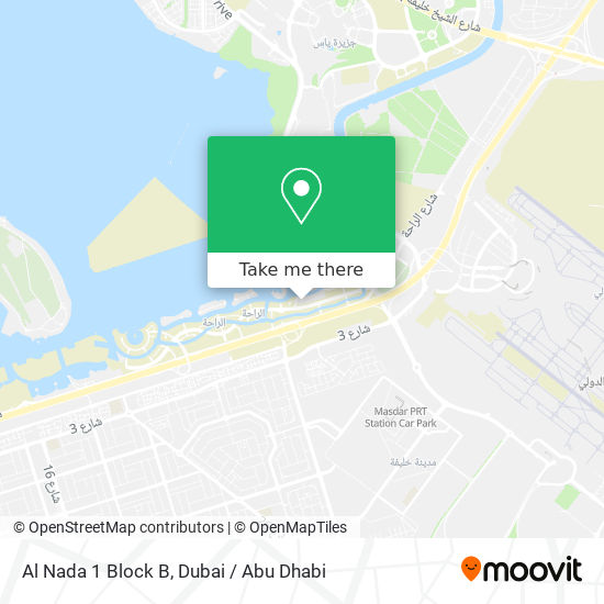 Карта Al Nada 1 Block B