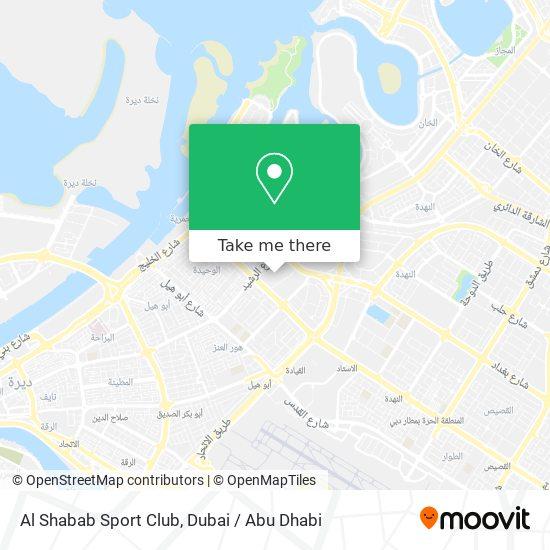 Карта Al Shabab Sport Club