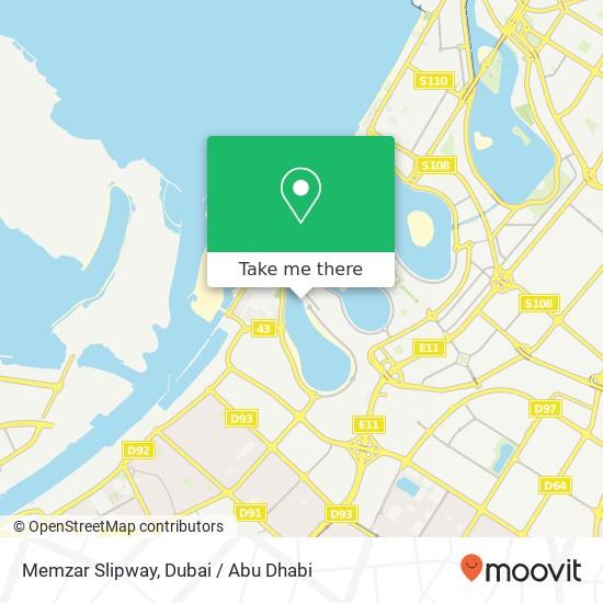 Memzar Slipway map