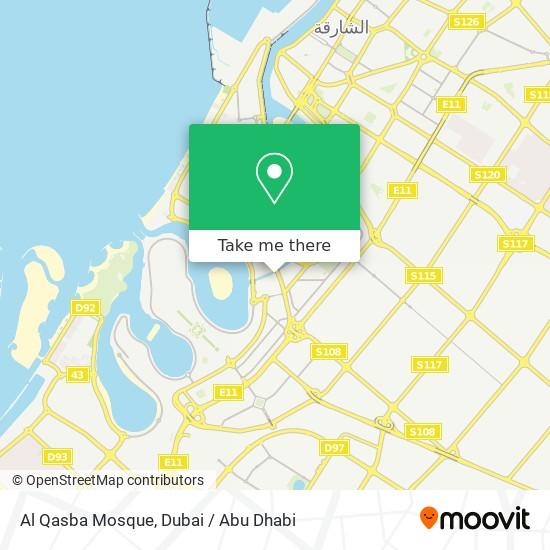 Al Qasba Mosque Karte