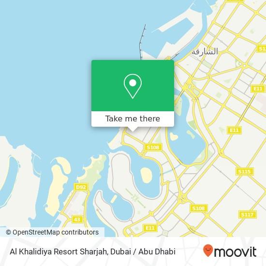 Al Khalidiya Resort Sharjah plan