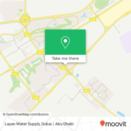 Карта Layan Water Supply