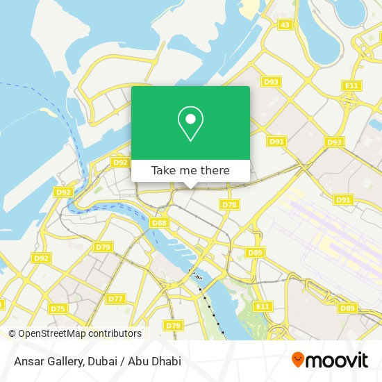 Ansar Gallery plan