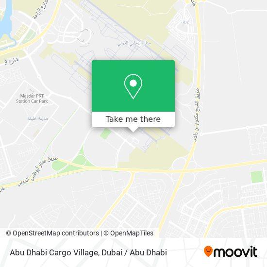 Карта Abu Dhabi Cargo Village