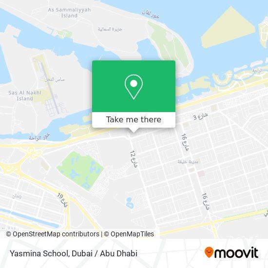 Yasmina School Karte