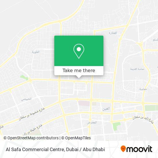Al Safa Commercial Centre Karte