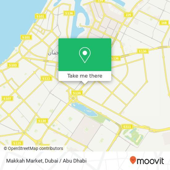 Makkah Market Karte