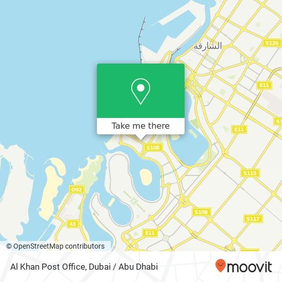 Al Khan Post Office plan