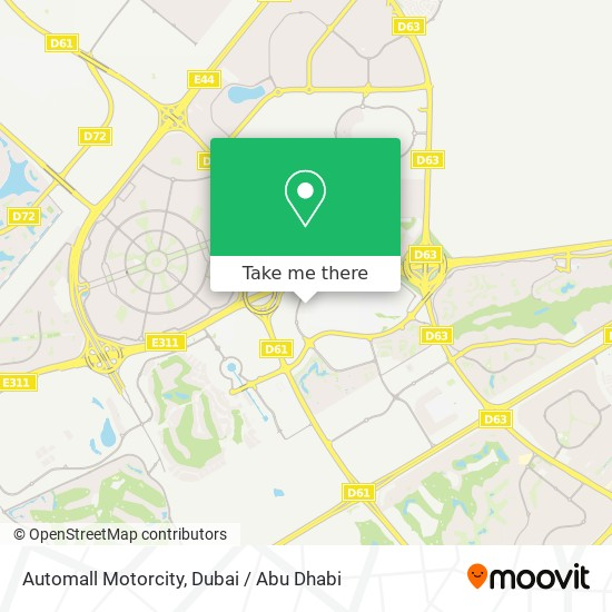 Карта Automall Motorcity