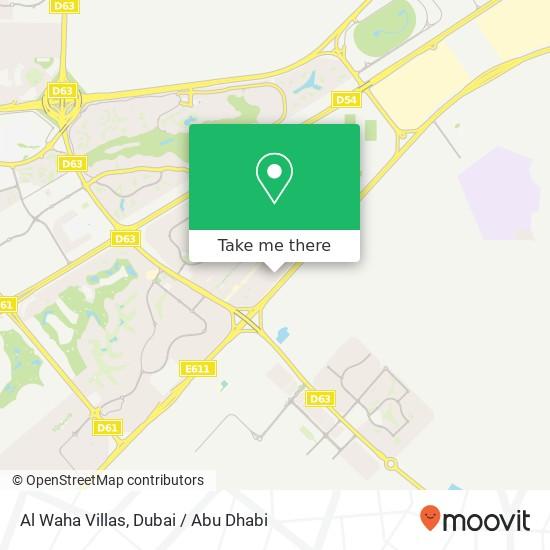 Al Waha Villas Karte