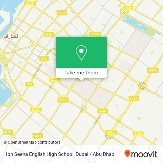 Ibn Seena English High School Karte