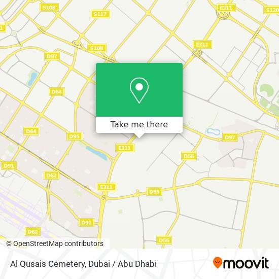 Карта Al Qusais Cemetery