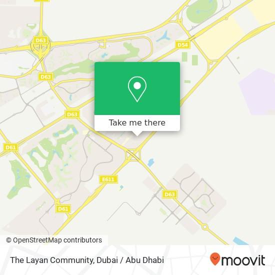 The Layan Community Karte