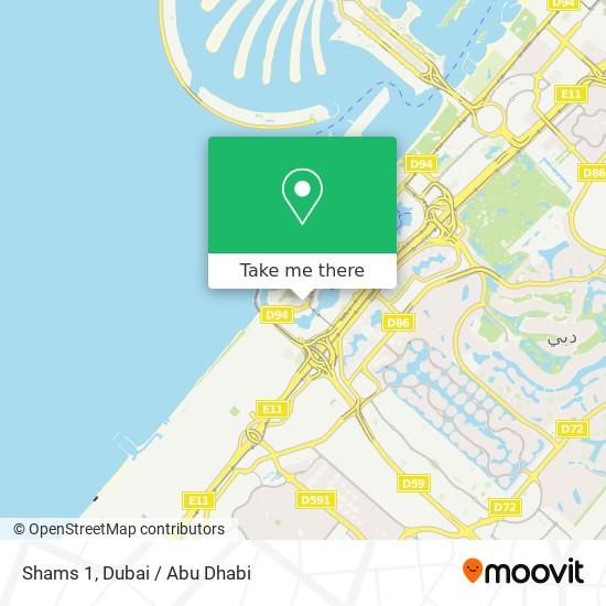 Карта Shams 1