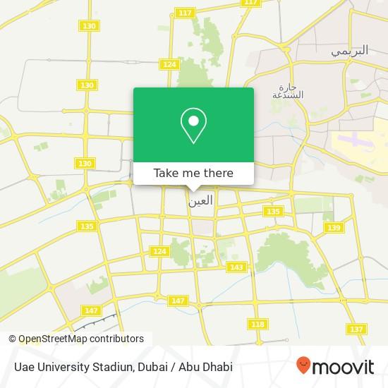 Uae University Stadiun plan