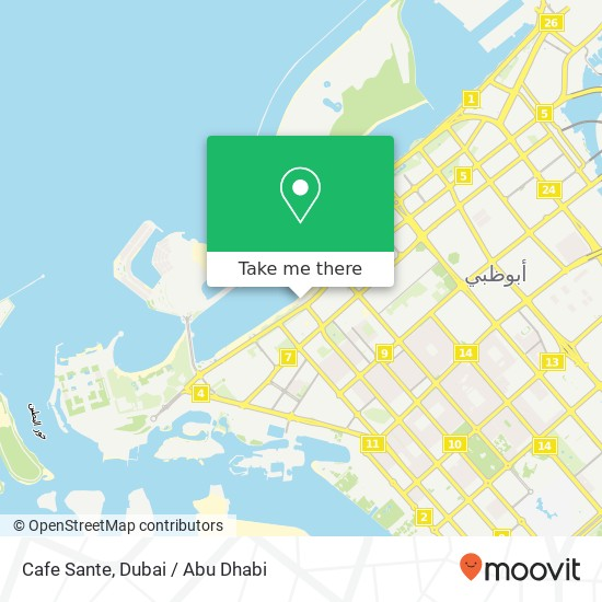 Cafe Sante plan