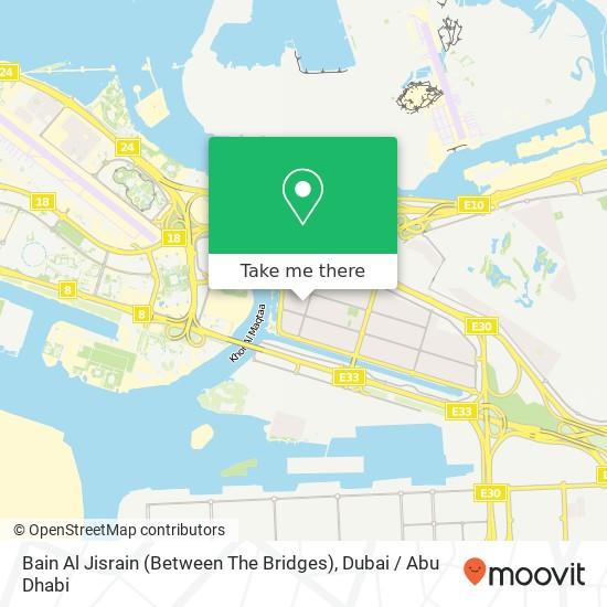 Карта Bain Al Jisrain (Between The Bridges)