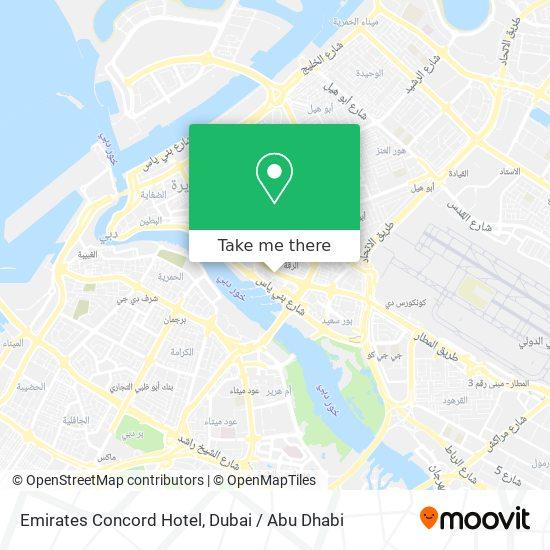 Emirates Concord Hotel plan