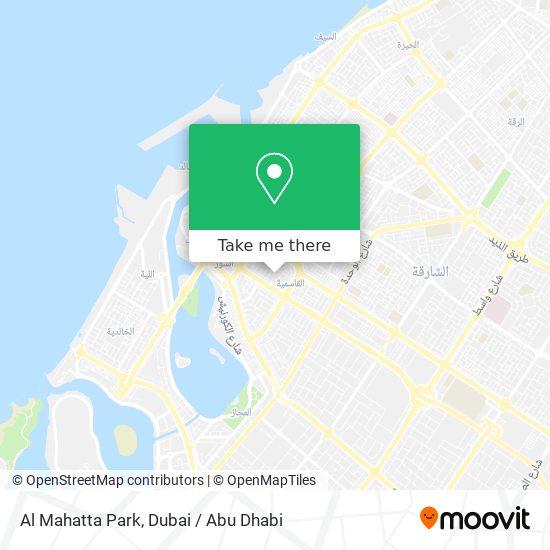 Al Mahatta Park Karte