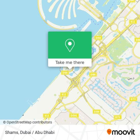 Карта Shams