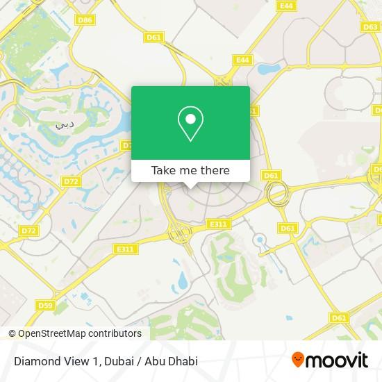 Diamond View 1 Karte