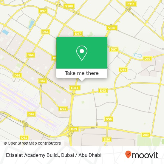 Карта Etisalat Academy Build.
