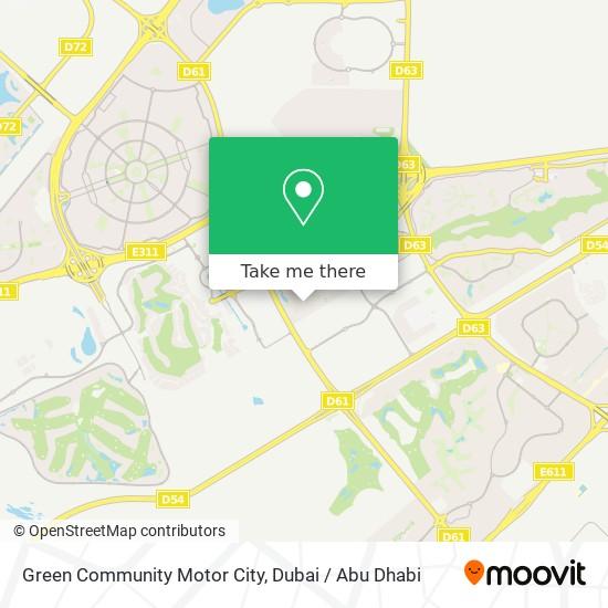 Green Community Motor City Karte