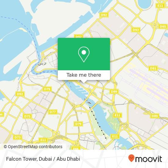 Falcon Tower plan
