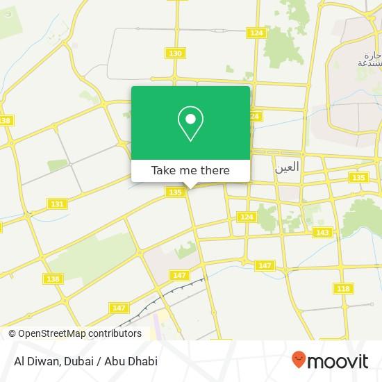 Карта Al Diwan