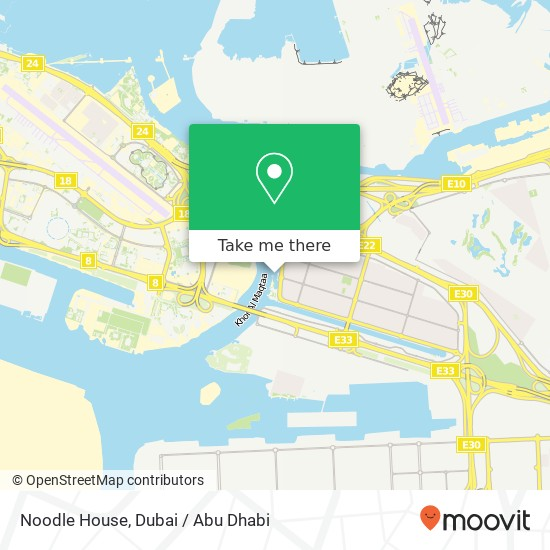 Карта Noodle House