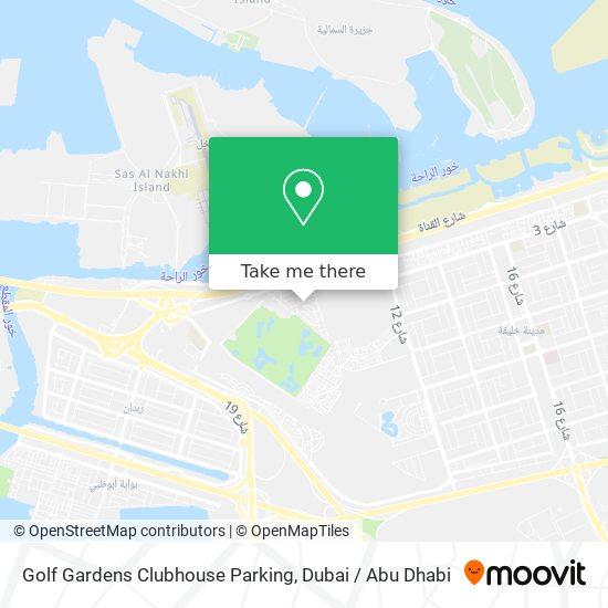 Golf Gardens Clubhouse Parking Karte