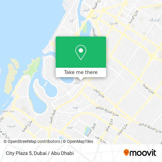City Plaza 5 Karte