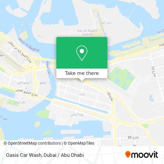 Карта Oasis Car Wash