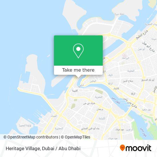 Heritage Village Karte