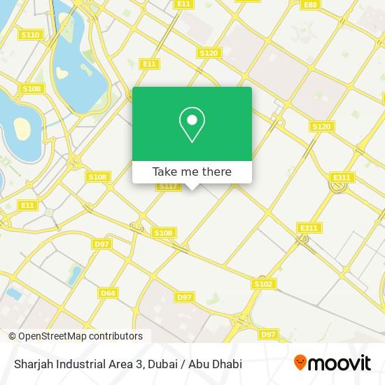 Карта Sharjah Industrial Area 3