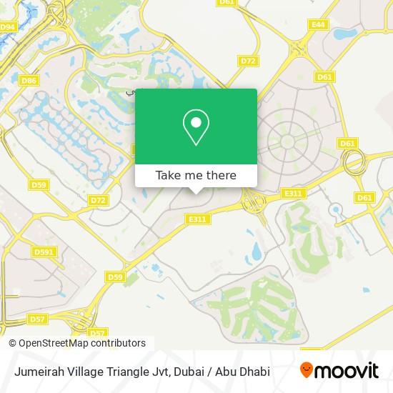 Jumeirah Village Triangle Jvt Karte