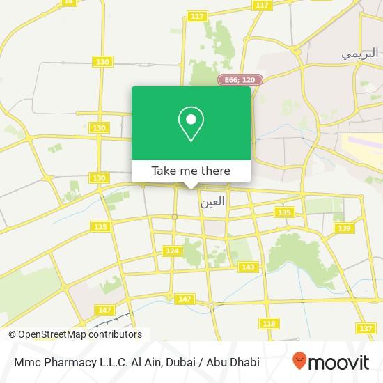 Mmc Pharmacy L.L.C. Al Ain Karte